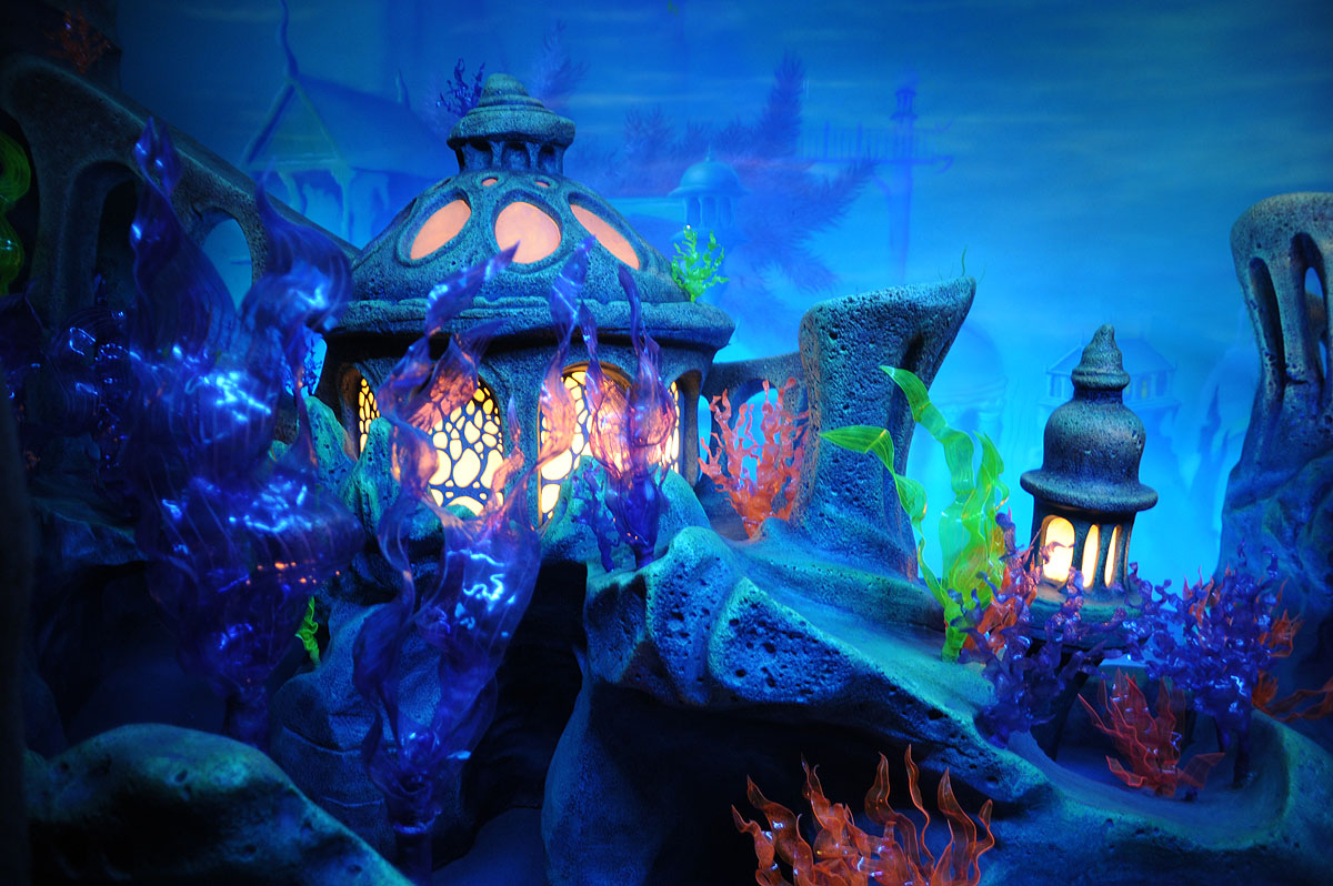 Tokyo Disney Sea – Triton's Kingdom | Tokyobling's Blog