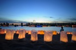 Odaiba Beach Lanterns