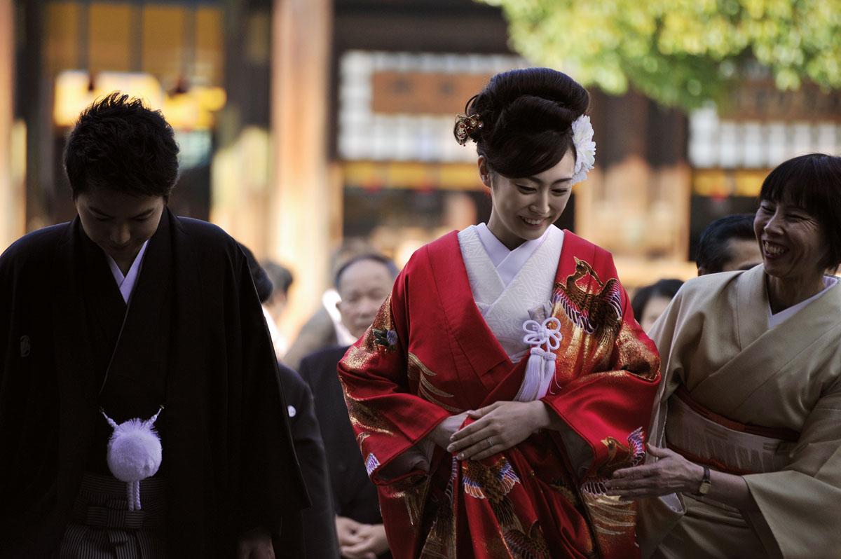 Japanese Wedding Beauty