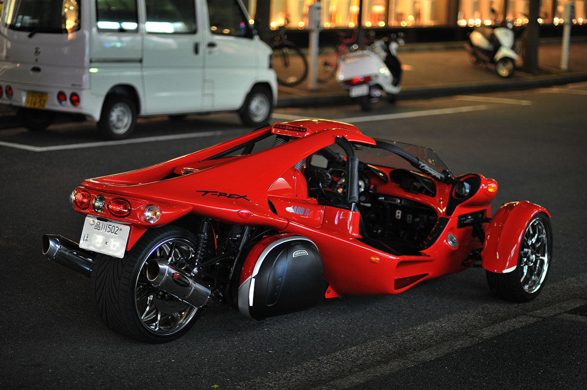 The campagna t rex tokyobling 39 s blog for T rex motor vehicle