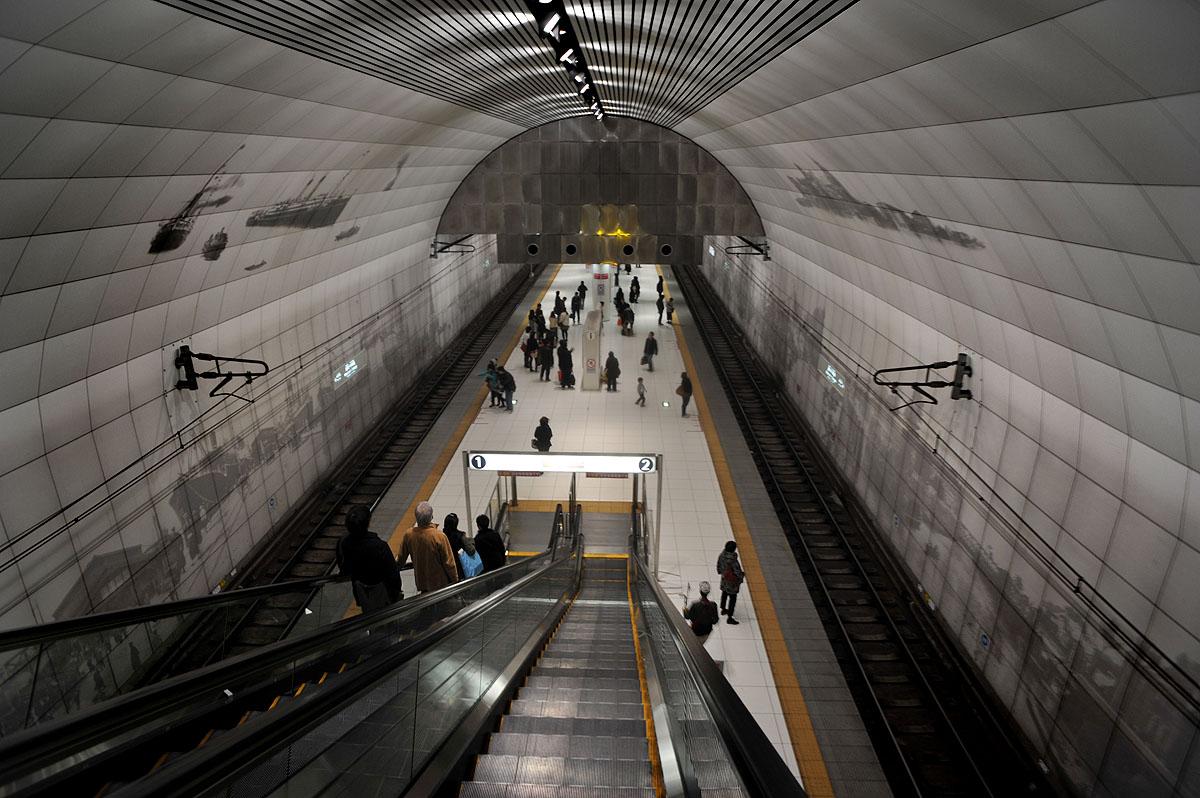 motomachi subway station | tokyobling's blog