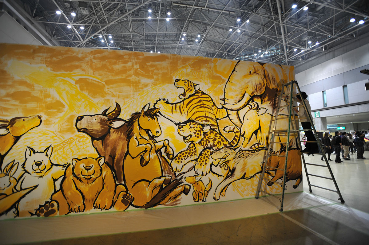Design Festa Wall Sized Paintings | Tokyobling\'s Blog
