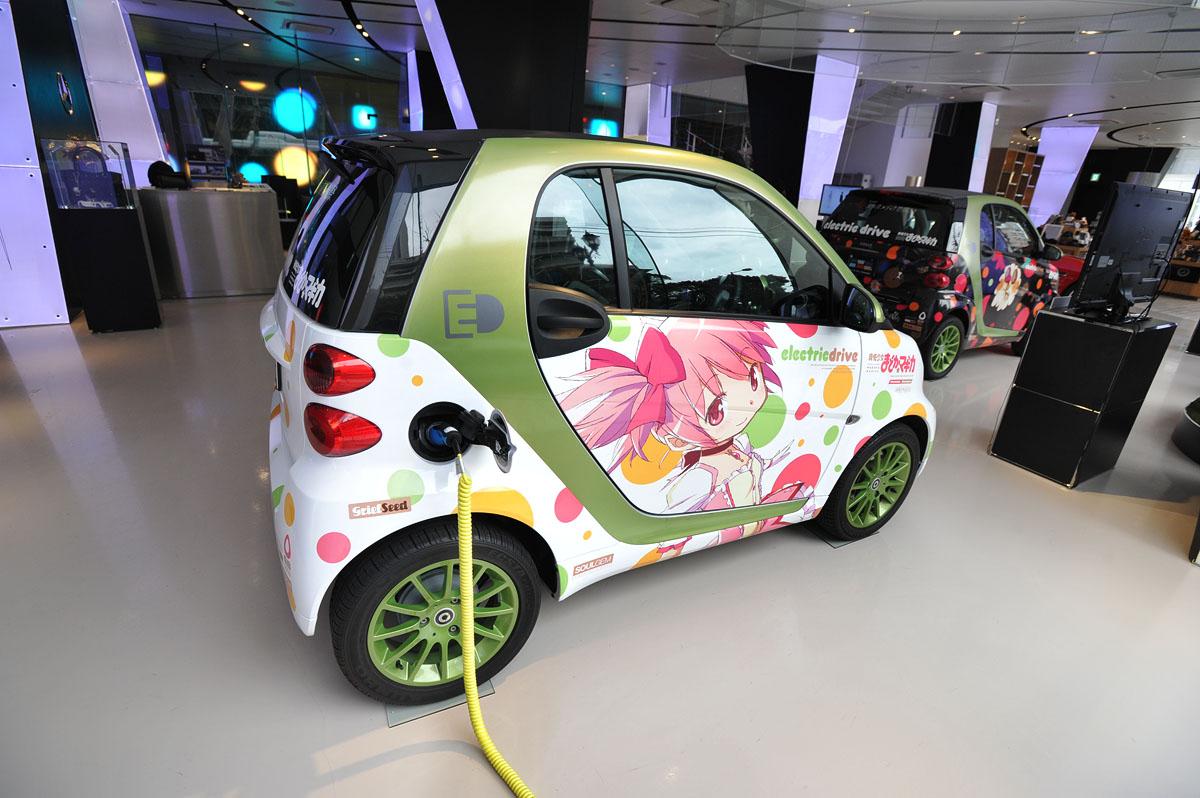 Mercedes Benz Midtown >> Mercedes-Benz Electric Anime Cars   Tokyobling's Blog