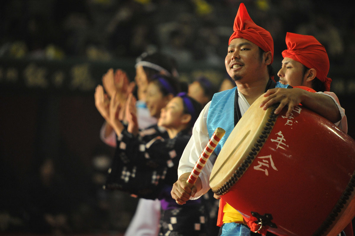 okinawan drummers furusato matsuri tokyobling s blog