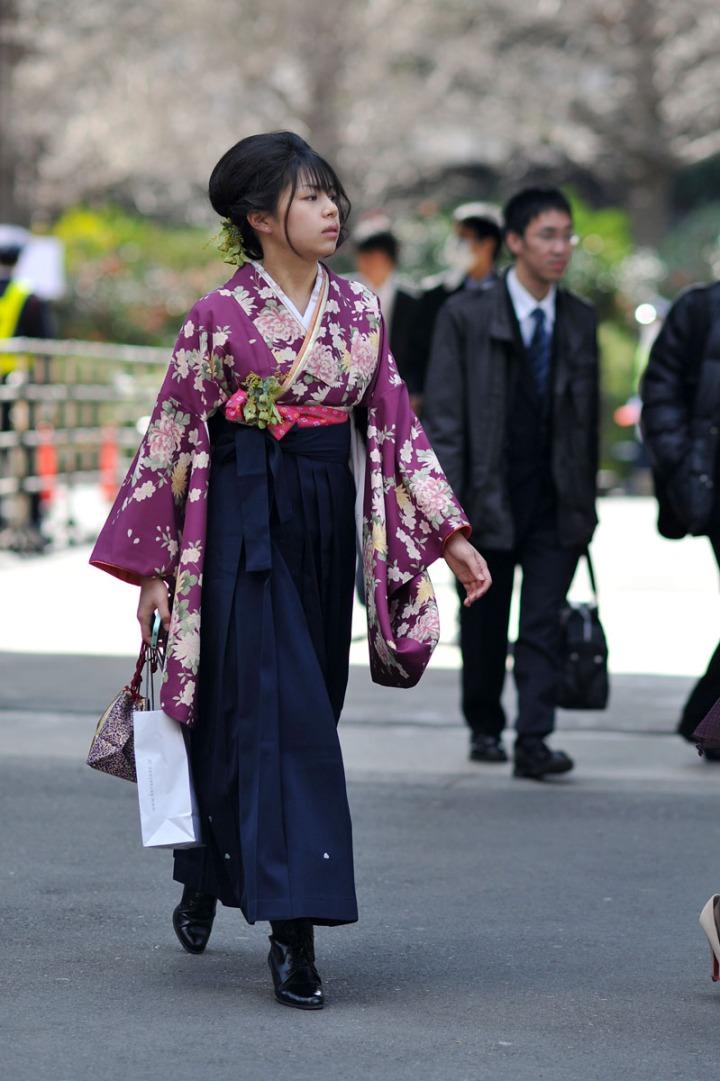 Parade Of Kimono University Graduation Tokyobling S Blog