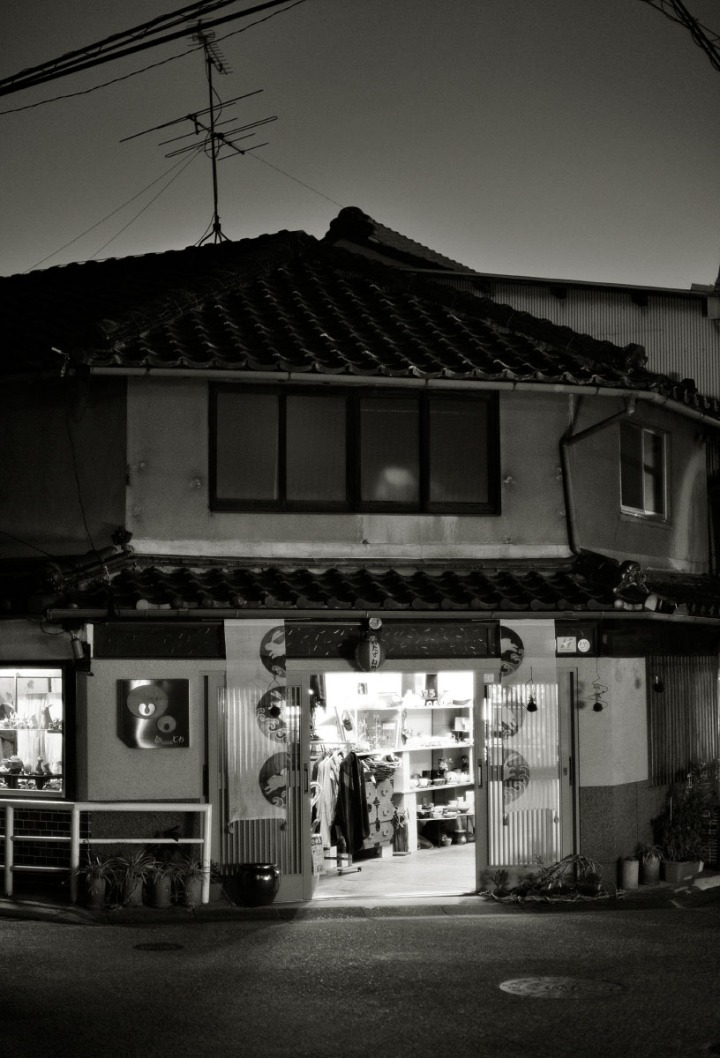 nara_old_town_at_night_7473