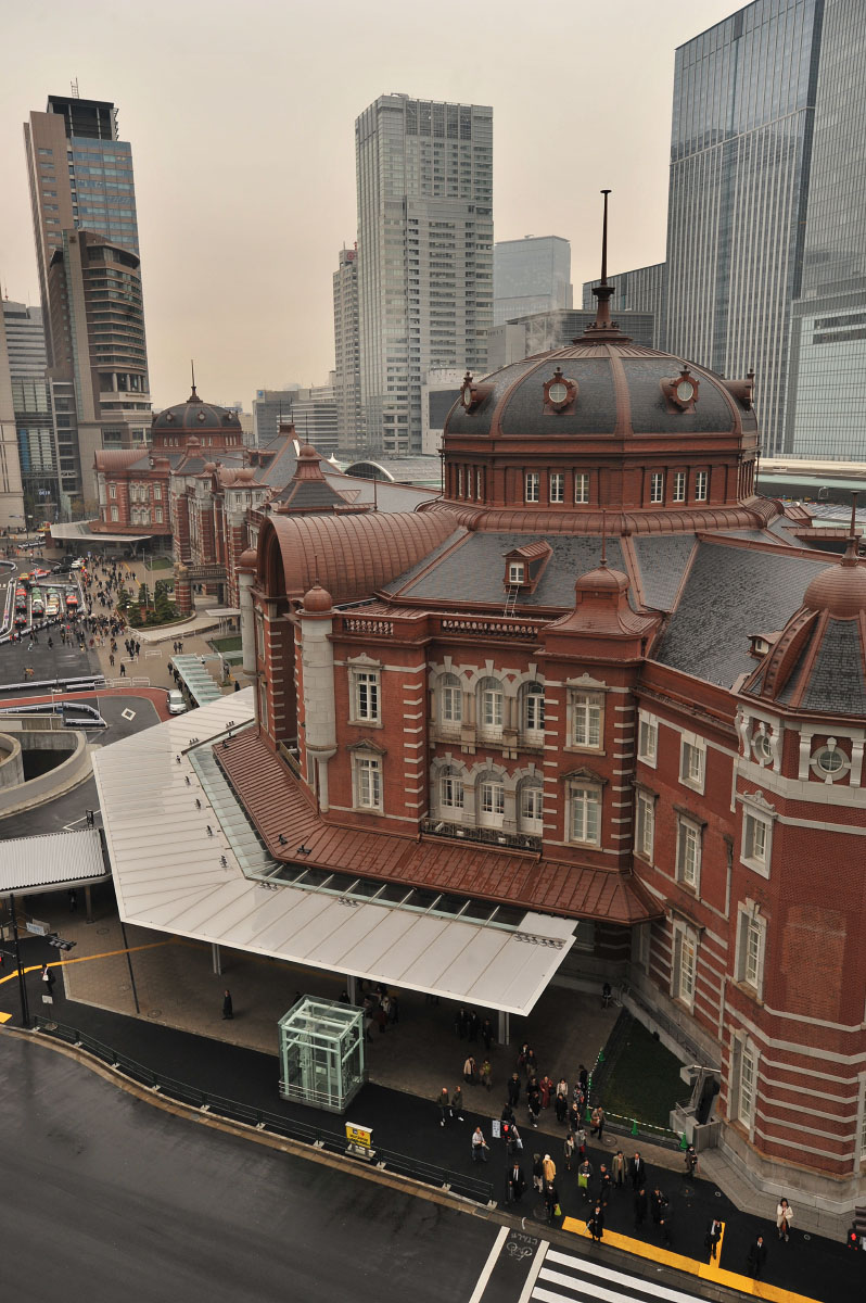 Tokyo Station From Above Tokyobling S Blog