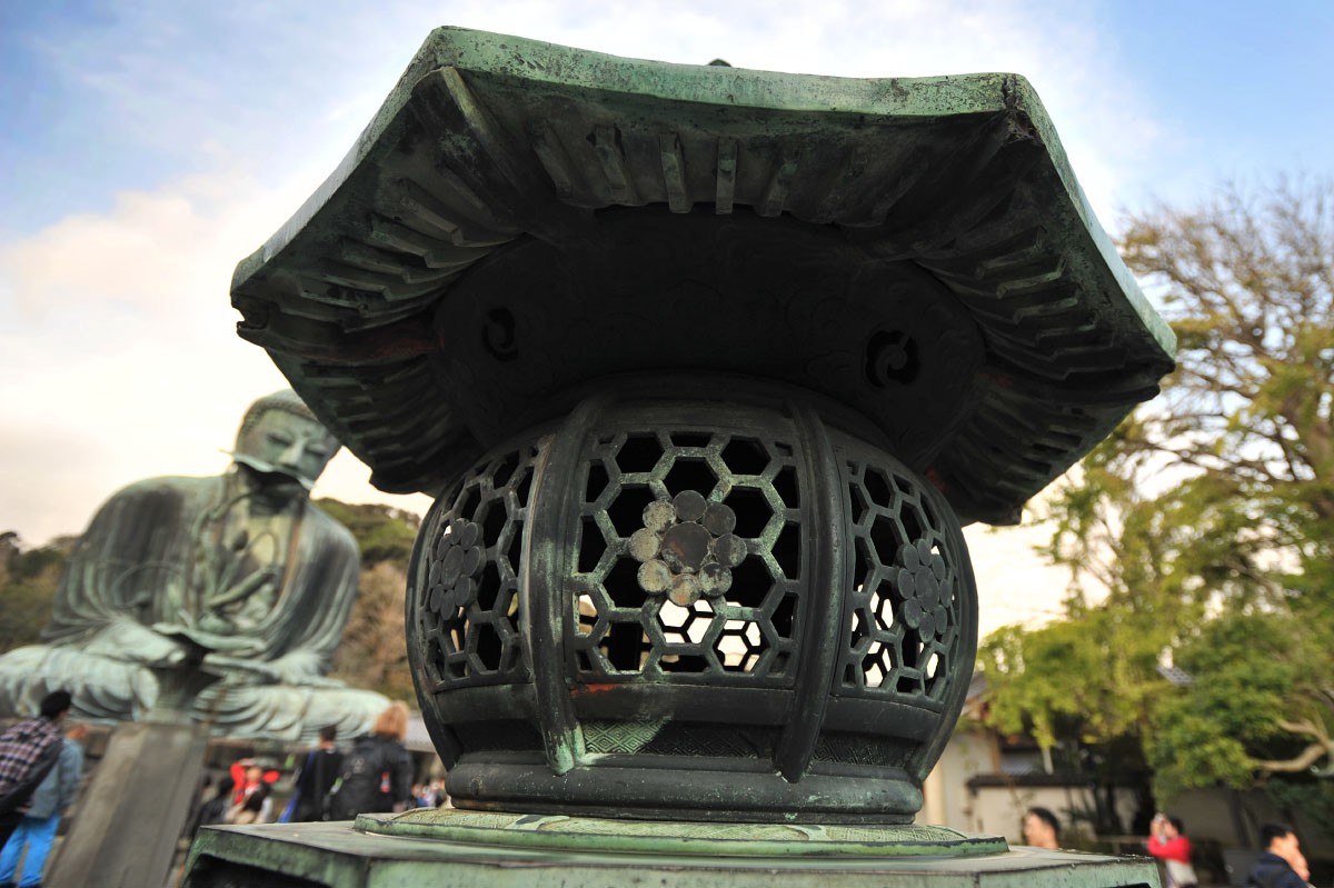 The Great Buddha at Kotokuin - Picture of Kotoku-in (Great Buddha ...