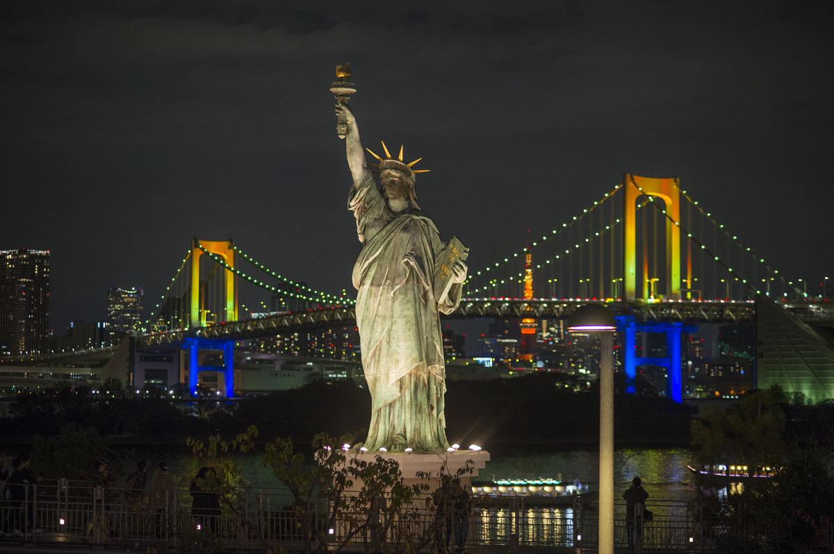 Odaiba Rainbow Bridge | Tokyobling's Blog