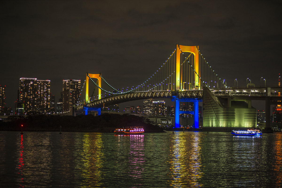 Odaiba Rainbow Bridge   Tokyobling's Blog Rainbow Bridge