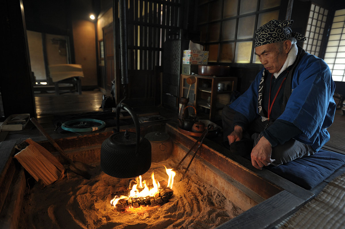 Irori the japanese hearth tokyobling 39 s blog for Traditional japanese kitchen