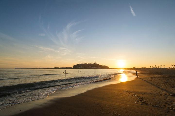 enoshima_higashihama_beach_sunset_0960