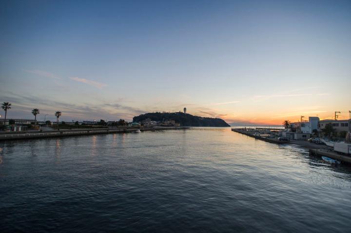 enoshima_sunset_1235