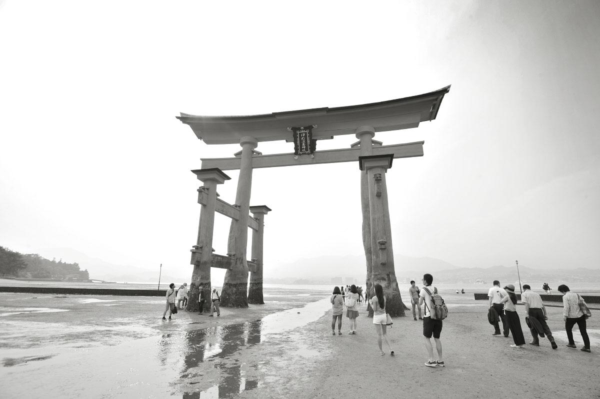 Itsukushima Shrine Torii – Miyajima  Tokyoblings Blog