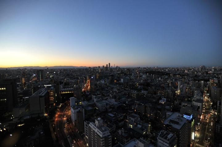 tokyo_sunset_bunkyo_ward_office_1384