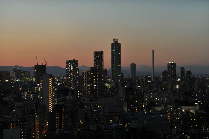 tokyo_sunset_bunkyo_ward_office_1434